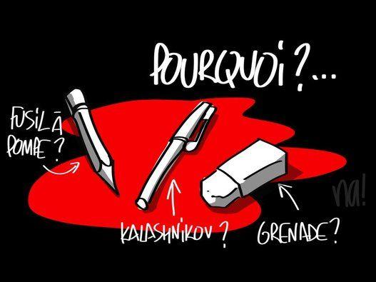 """""""Je suis Charlie"""" : qui est à l'origine de l'image et du slogan que le monde entier reprend par solidarité"""