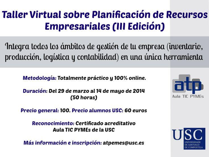 Taller Virtual sobre Planificación de Recursos Empresariales con Dolibarr ERP (III Edición)