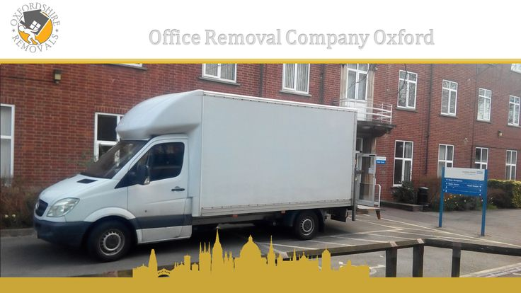 Office Removal Company Oxford