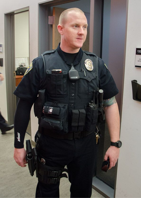 Check Out The Axon Body Camera Peeking Out Of A Cal State