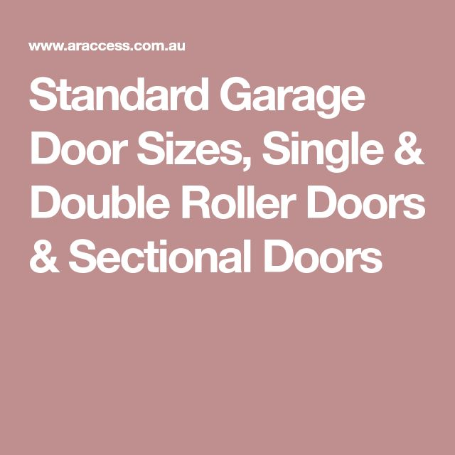 Best 25 Garage Door Sizes Ideas On Pinterest Metal