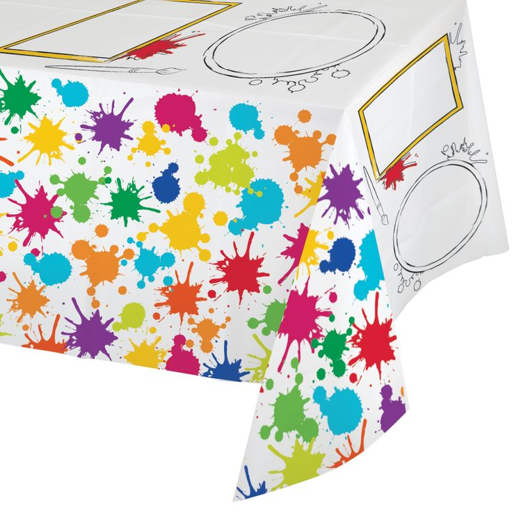 Art Party Deluxe Activity Paper Tablecover Party Supplies Canada - Open A Party