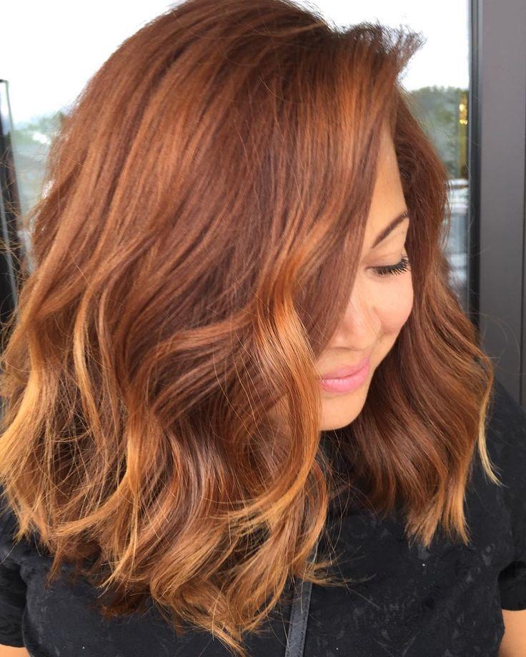 The 25 best copper brown hair ideas on pinterest red brown hair now trending pumpkin spice hair byrdie uk pmusecretfo Choice Image