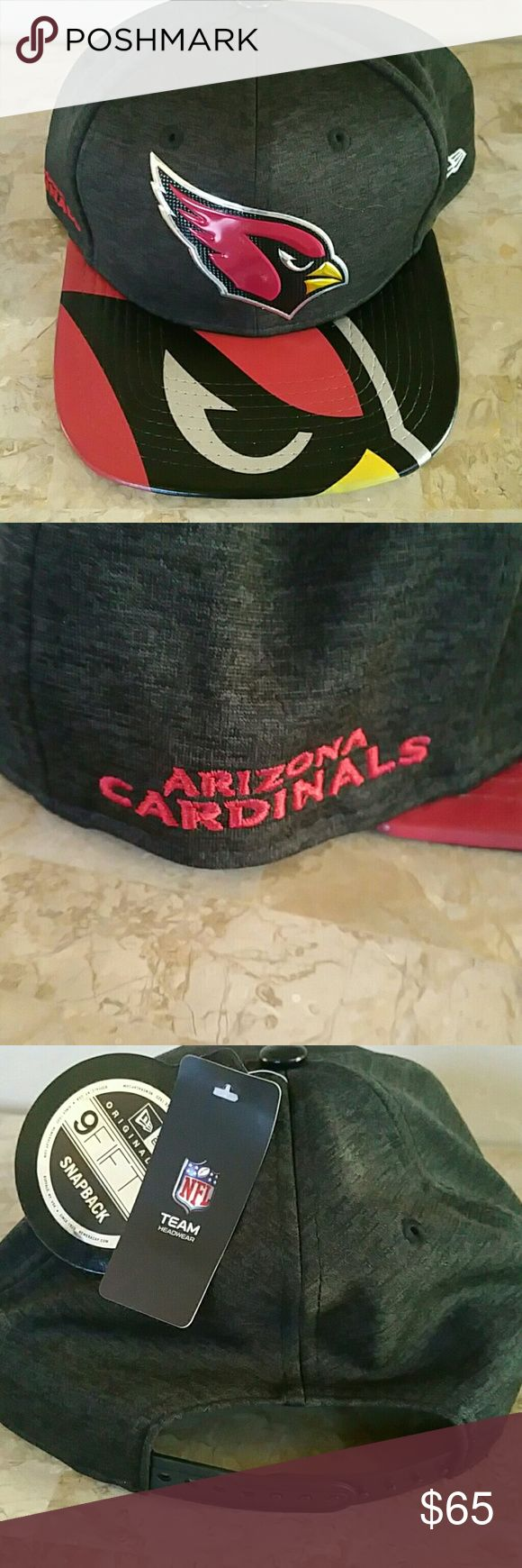 Authentic NFL Arizona Cardinal Hat NWT Brand new.  With tags.   Never worn.  Adjustable. nfl Accessories Hats
