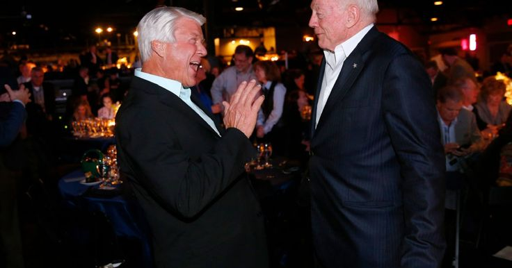 Why Jerry Jones was left speechless after using 'pillow talk' and Jimmy Johnson in same answer