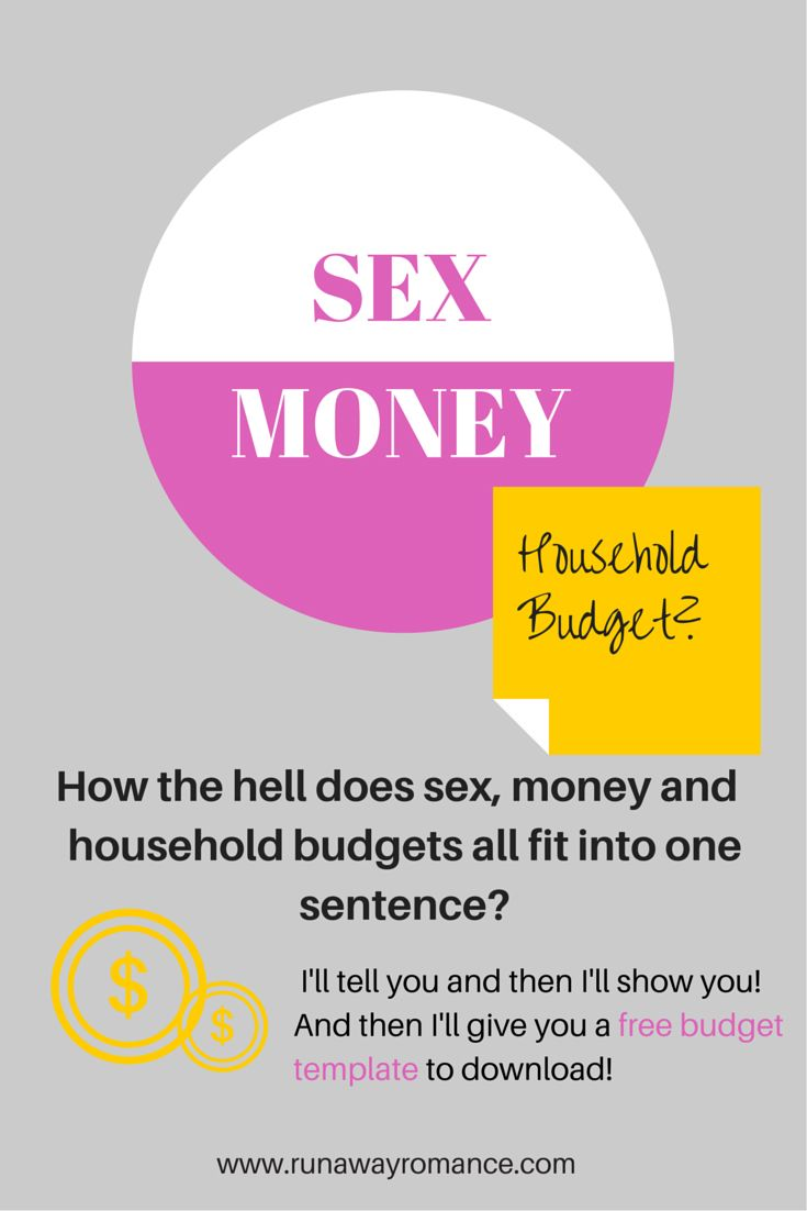 Sex, Money and Household budgets | See more ideas about Home ...