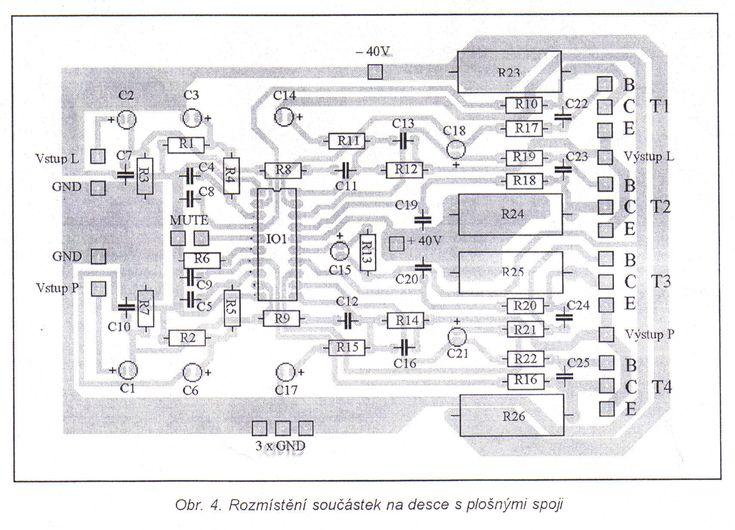 TDA7250 2x80W + predzosilovač j - Svet Elektroniky | Усилитель