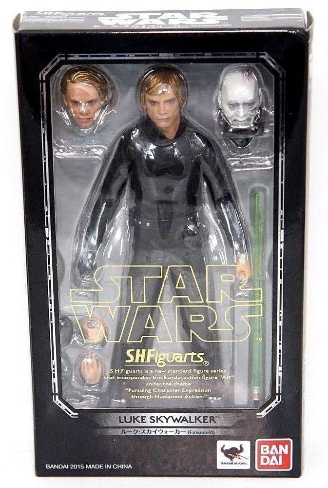 BANDAI S.H.Figuarts Star Wars Luke Skywalker Action Figure