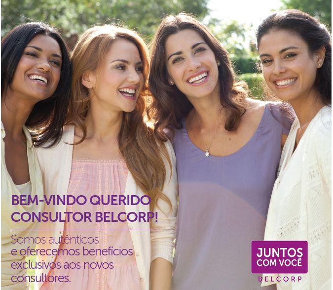 Conheça o Programa Juntos Com Você e veja os benefícios de ser um(a) Consultor(a) L'Bel Belcorp Cosméticos.