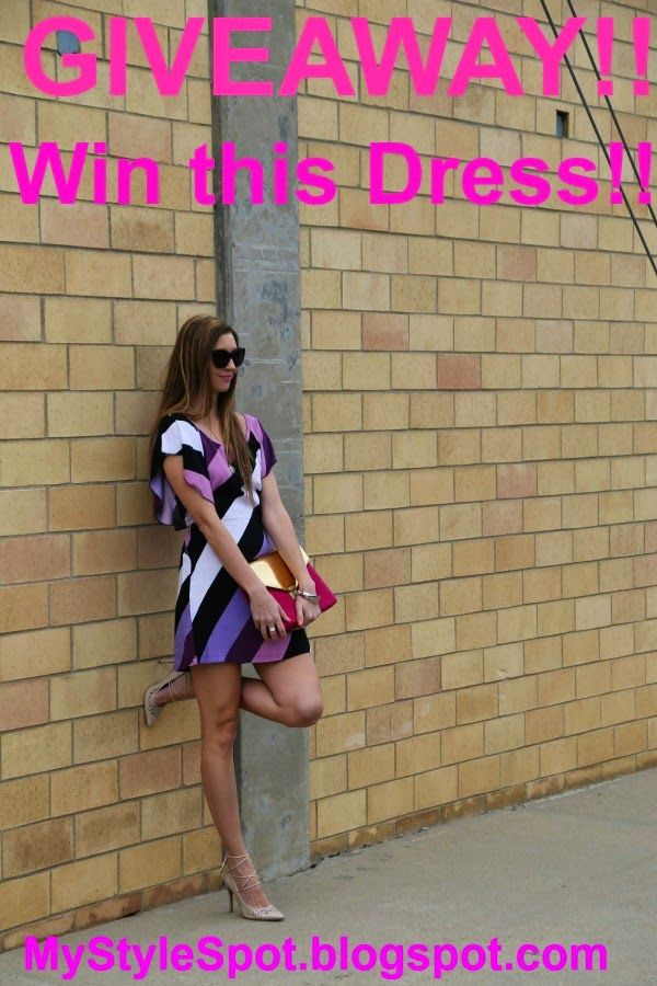 MyStyleSpot: GIVEAWAY: Win this Gorgeous Striped Mini Dress! OPEN WORLDWIDE! Ends march 23, 2015. #GIVEAWAY #WIN #DRESS #MINI #fashion #style #blogger #mystylespot #contest #sweepstakes #shopping #women #ladies #apparel