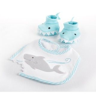 Baby Aspen 'Let the Fin Begin' Pink Shark Robe - Overstock Shopping - Big Discounts on Baby Aspen Baby Towels