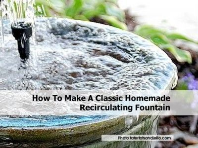 32 best images about fountains on pinterest gardens for Recirculating water feature
