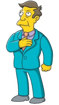 Principal Seymour Skinner (born Armin Tamzarian) - The Simpsons' character voiced by Harry Shearer.