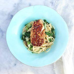Tonijn recept Japans: verse tonijn bakken made by ellen