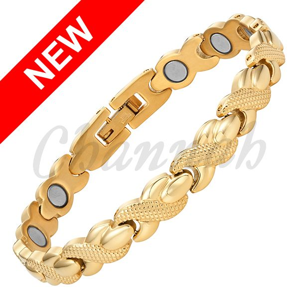 Find More Chain & Link Bracelets Information about 2016 Women Classic Cross Magnetic Stainless Steel Bracelet 18K Gold Bangle Ladies Jewellery Bio Gift Free Shipping HongKong Post,High Quality posted meaning,China bracelet ball Suppliers, Cheap bracelet aluminium from Channah Store on Aliexpress.com