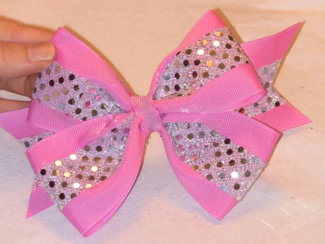 Double bow - cheer bows