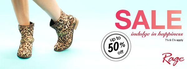 Rage Shoes SA | 50% off June Promo on Behance