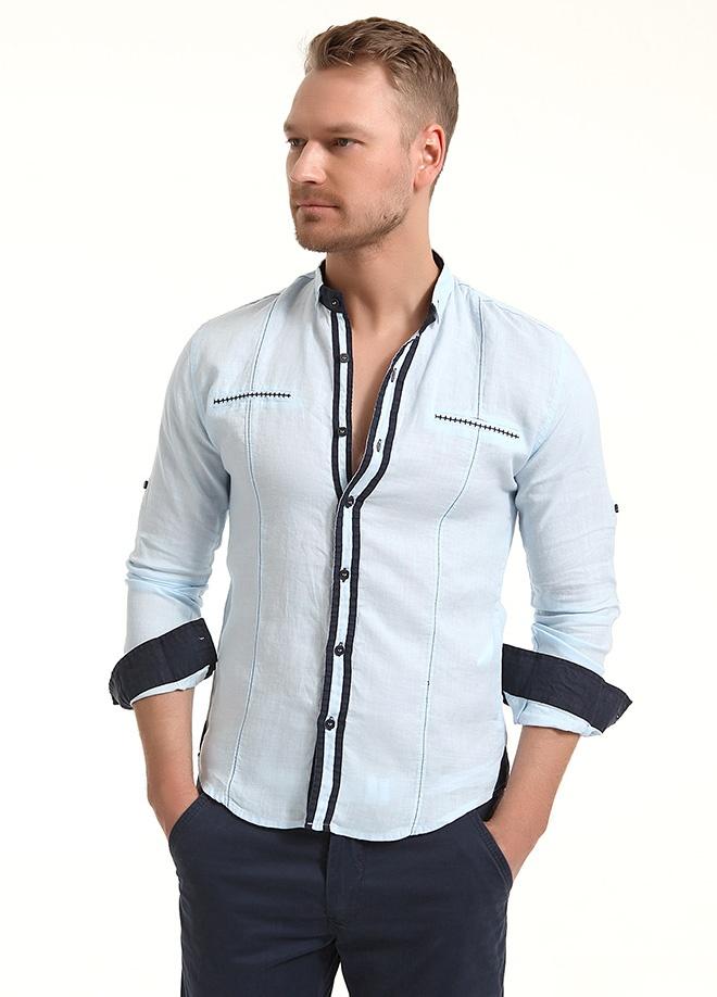 Sateen Men Biyeli gömlek Markafonide 99,90 TL yerine 49,99 TL! Satın almak için: http://www.markafoni.com/product/3797823/