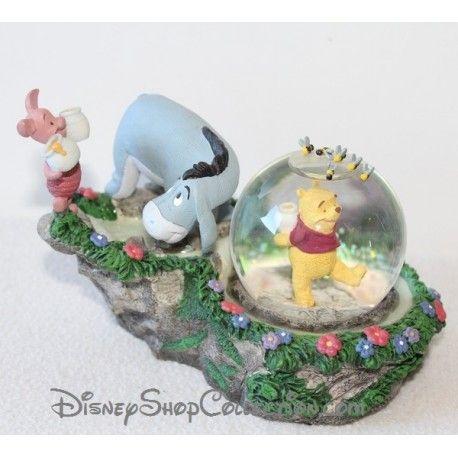 Snow globe Winnie l'ourson DISNEY Bourriquet et Porcinet boule à neige 10 cm