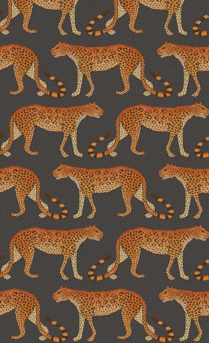 Papier peint Leopard Walk - Cole and Son