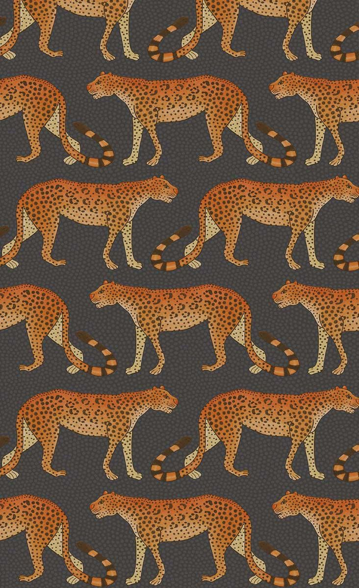 Papier peint Leopard Walk - Cole and Son