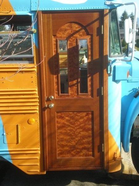 6 Door Truck For Sale >> bus door | Ideas | School bus conversion, Bus conversion, Bus life
