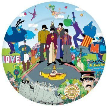 The Beatles Yellow Submarine Plate by ICUP. $12.99. THE BEATLES YELLOW SUBMARINE PLATE - MADE FROM MELAMINE. 10.5 INCHES. THE BEATLES YELLOW SUBMARINE PLATE - MADE FROM MELAMINE. 10.5 INCHES