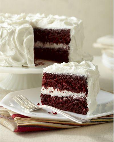 Red Velvet Cake with Velvet frosting: Dairy-free, egg-free, nut-free, soy-free, gluten-free, vegan