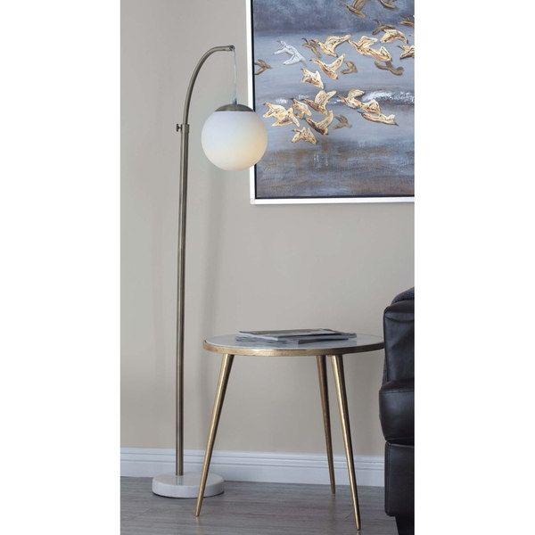 Studio 350 Metal Marble 56-inches High Floor Globe Lamp