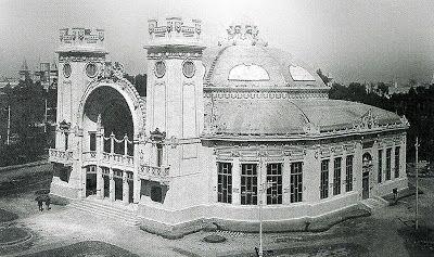 Arq. Atilio Locati - Pabellón de Mendoza - Expo Centenario 1910 (Demolido)