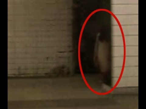 Real scary ghost caught on tape in the subway | Scary ghost caught on ta...