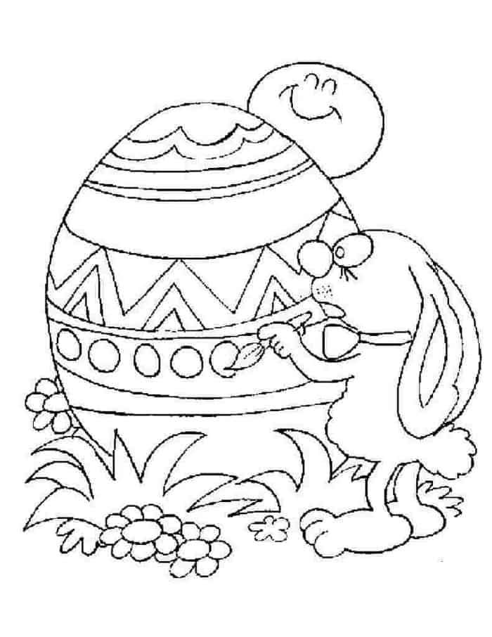Easter Coloring Pages Pdf In 2020 Easter Coloring Pages Bunny Coloring Pages Coloring Easter Eggs