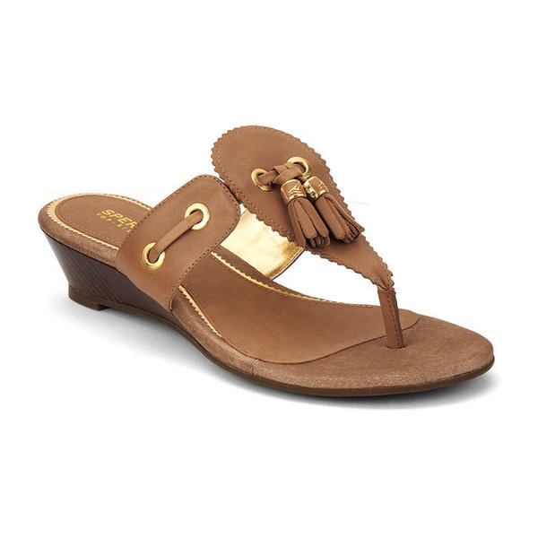 Cute and Comfy Sandals: Sperry Top-Sider 'Isabella' wedge sandals: Wedge Sandals, Wedges, Comfy Sandals, Isabella Wedge, Top Sider Isabella