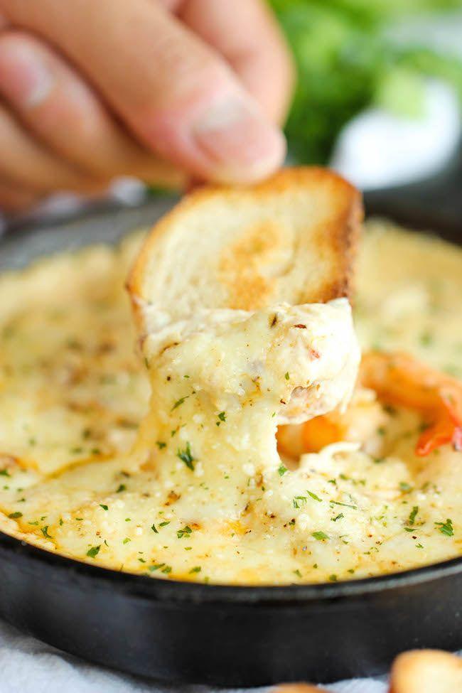 Shrimp Scampi Dip - Damn Delicious