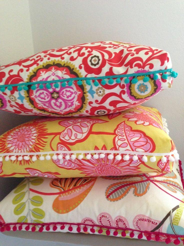 No Sew Floor Pillow Pouf Instructions