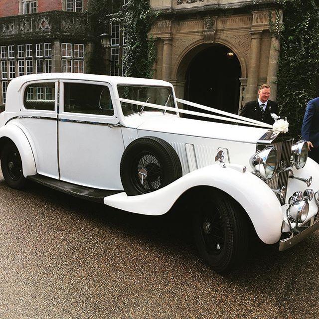 #weddingcar #tylneyhall #lauriewedding #beaut