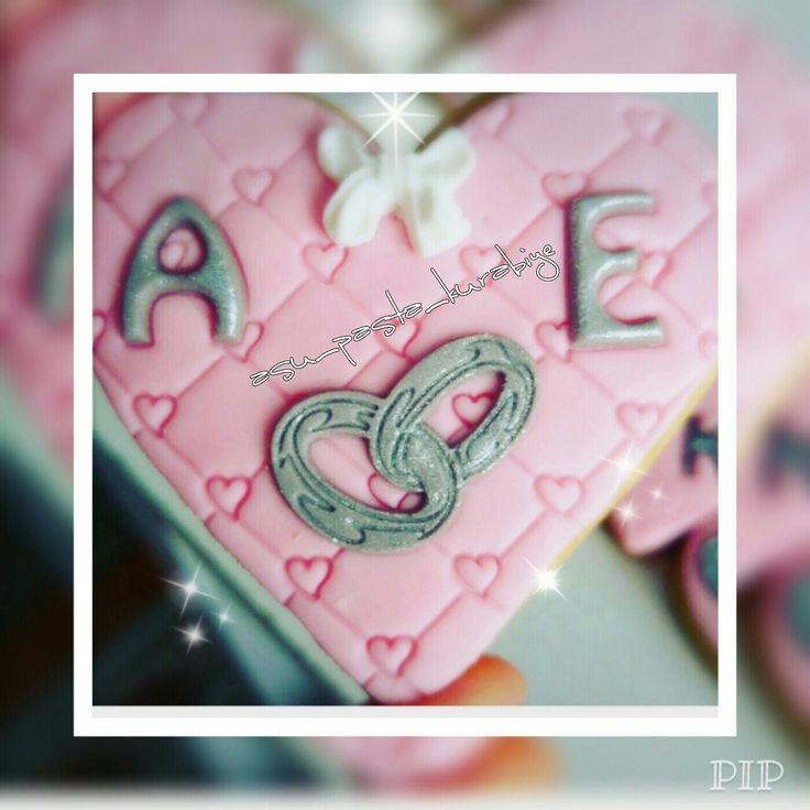 Kalp söz&nişan kurabiyesi