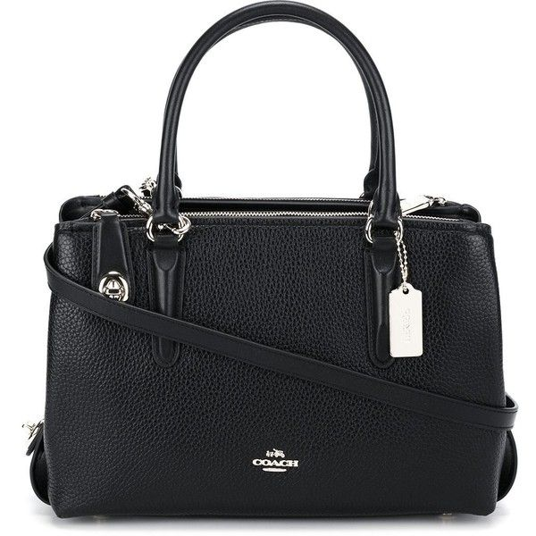 Coach classic tote (39.220 RUB) ❤ liked on Polyvore featuring bags, handbags, tote bags, black, leather tote purse, genuine leather tote bag, leather tote bags, coach purses and leather handbags