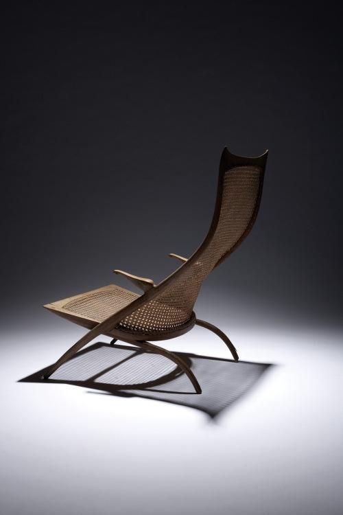 Dan Johnson, High Back Gazelle Lounge Chair for Dan Johnson Studio, 1956.