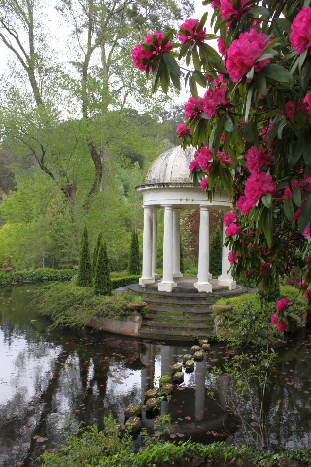 Temple of the Winds, Cameron Lodge, Mt Macedon, Victoria
