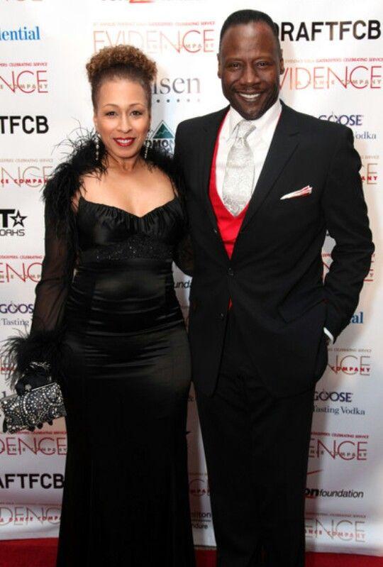 Actress Tamara Tunie and husband Jazz Artist Gregory Generet ...