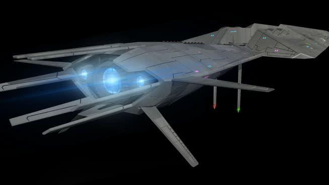 The Galactic Patrol Fleet Cruiser Britannia Based On The Epic