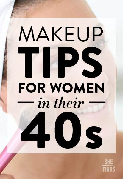 Makeup tips for women in their 40s