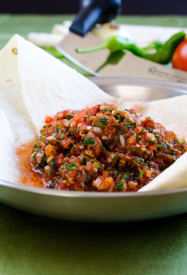 Turkish Spicy Ezme Salad - Give Recipe