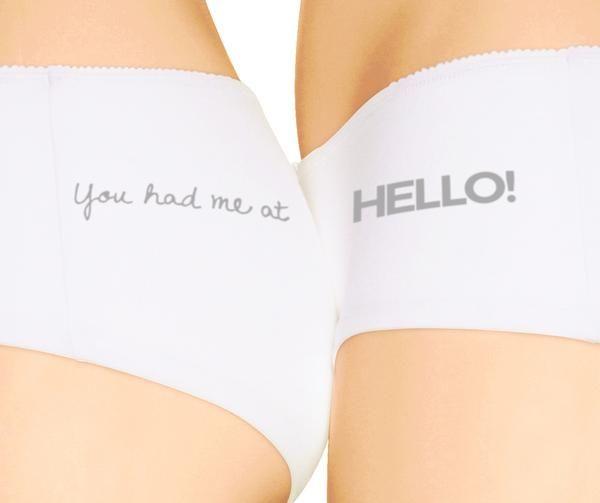 'hello' ...