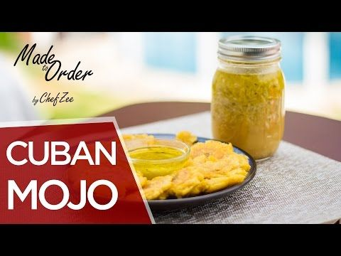 How to Make Cuban Style Mojo | Mojo Criollo | Made To Order | Chef Zee Cooks - YouTube