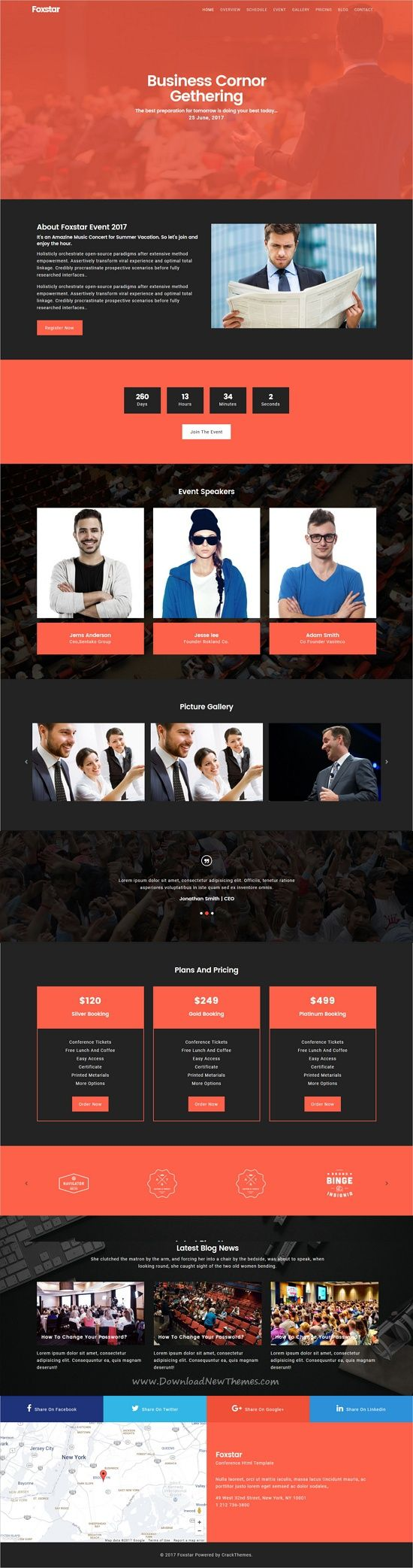 Foxstar is clean & professional design responsive #HTML bootstrap template for #events #conference stunning website with 50+ niche homepage layouts download now➩ https://themeforest.net/item/foxstar-multipurpose-landing-page-pack-with-page-builder/19761185?ref=Datasata