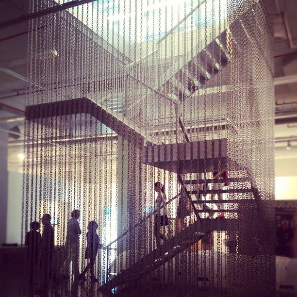 Hanging stair at the #Istanbul Modern Museum