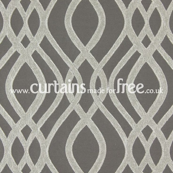 Prestigious Textiles Amina Pewter   Semi Plain Fabric For Curtains    Curtains Made For Free