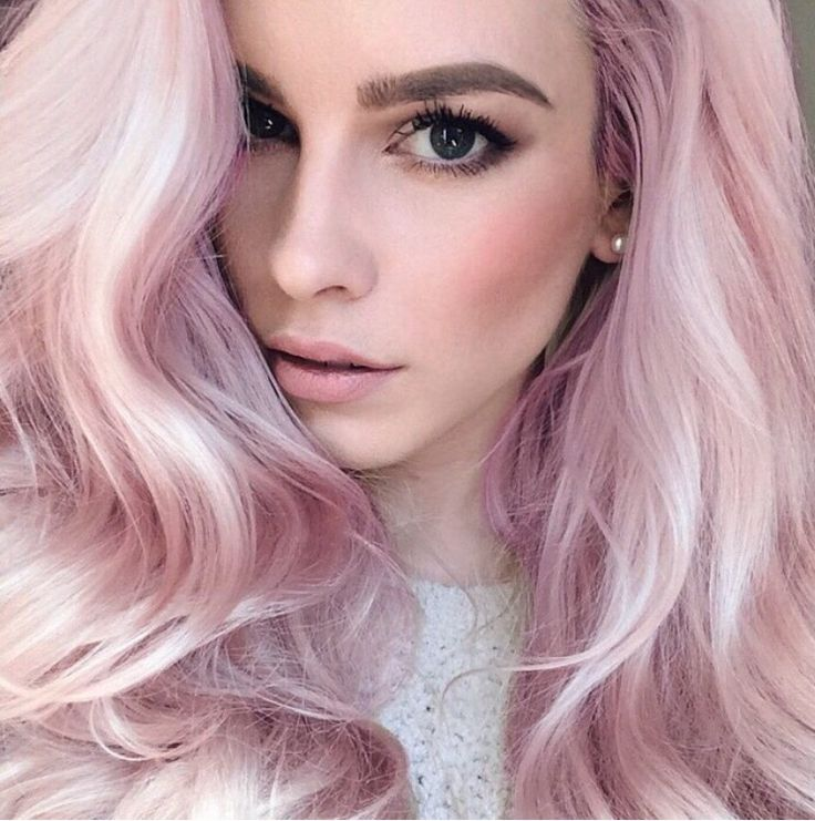 Pink haired girl pics